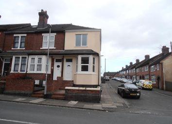 Thumbnail 1 bed flat to rent in Cromartie Street, Longton, Stoke-On-Trent
