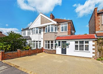 Thumbnail 3 bedroom semi-detached house for sale in Carisbrooke Avenue, Bexley, Kent