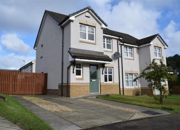 Thumbnail 3 bed semi-detached house for sale in Woodlands Drive, Lhanbryde, Elgin