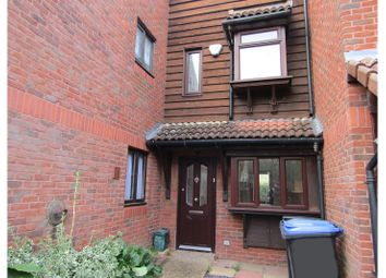 Thumbnail 3 bed terraced house to rent in Huntingdon Road, Knaphill, Woking