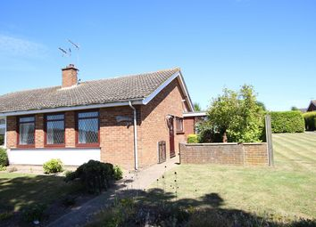 Thumbnail 2 bed semi-detached bungalow for sale in Lincoln Gardens, Claydon, Ipswich, Suffolk