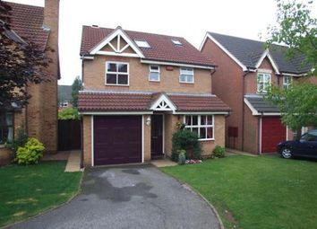 Thumbnail 4 bed detached house to rent in Hollybrook Grove, Watnall, Nottingham
