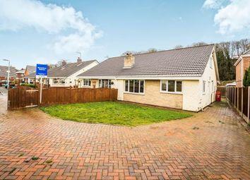 Thumbnail 4 bed bungalow for sale in Garden Row, Coast Road, Mostyn, Flintshire