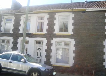 Thumbnail 3 bed terraced house to rent in Middle Street, Pontypridd