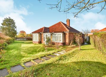 Thumbnail 3 bed detached bungalow for sale in Holt Road, Hellesdon, Norwich
