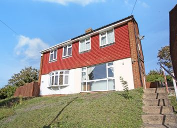 Thumbnail 3 bed semi-detached house to rent in Riverview Road, Greenhithe