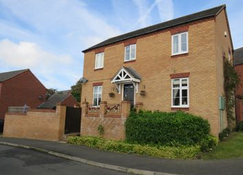 Thumbnail 3 bed detached house for sale in South Meadow View, Duston, Northampton