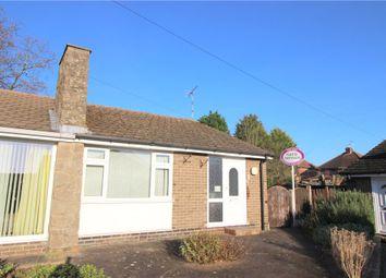 Thumbnail 2 bed semi-detached bungalow for sale in Borrowfield Road, Spondon, Derby