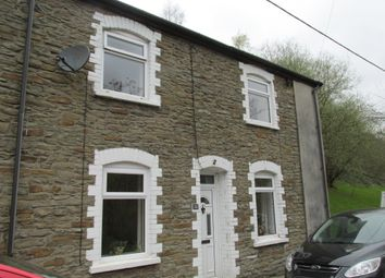 Thumbnail 3 bed end terrace house to rent in 33 Railway Terrace, Hollybush, Blackwood