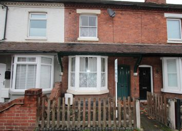 Thumbnail 2 bed terraced house for sale in Barbara Street, Tamworth, Staffs