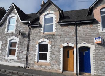 Thumbnail 2 bed terraced house to rent in Wellington Road, Torquay