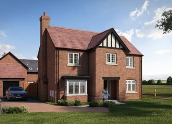 Thumbnail 4 bed detached house for sale in Upton Snodsbury Road, Pinvin, Worcestershire