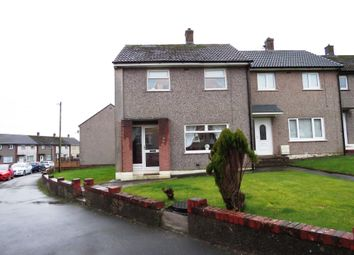 Thumbnail 2 bed end terrace house for sale in Ullswater Avenue, Whitehaven, Cumbria