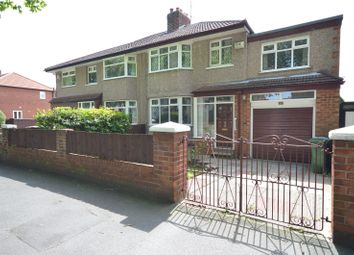 Thumbnail 4 bed semi-detached house for sale in Darby Road, Grassendale, Liverpool