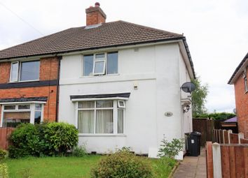 Thumbnail 3 bed semi-detached house for sale in Wandsworth Road, Kingstanding, Birmingham