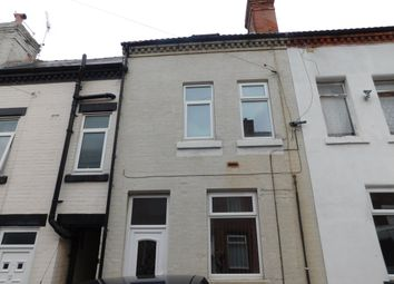 Thumbnail 2 bed terraced house for sale in Linden Street, Mansfield