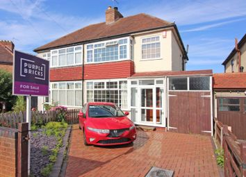 Thumbnail 3 bed semi-detached house for sale in Chester Avenue, Claregate, Wolverhampton