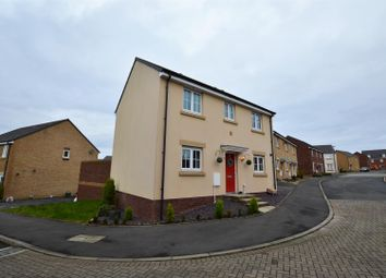 Thumbnail 3 bed detached house for sale in Lonydd Glas, Llanharan, Pontyclun