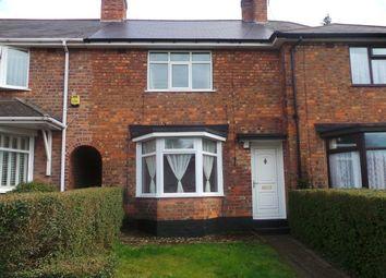 Thumbnail 3 bed terraced house for sale in Glendon Road, Erdington, Birmingham