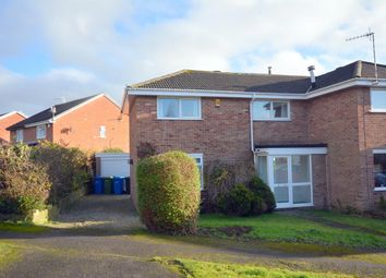 Thumbnail 3 bed semi-detached house for sale in Elkstone Road, Linacre Woods, Chesterfield