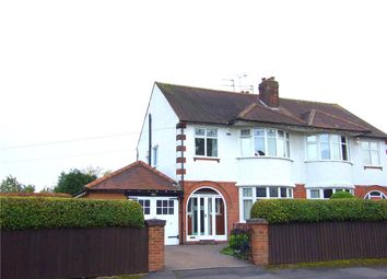 Thumbnail 3 bedroom semi-detached house for sale in Vicarwood Avenue, Darley Abbey, Derby