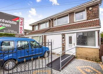 Thumbnail 3 bedroom semi-detached house for sale in Goodwood Avenue, Fulwood, Preston, Lancashire