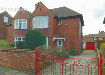 Thumbnail 2 bedroom semi-detached house for sale in Buckingham Road, Town Moor, Doncaster.