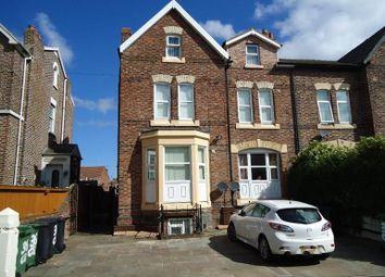 Thumbnail 3 bed flat to rent in Carlton Road, Birkenhead