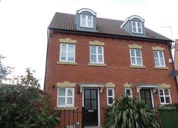 Thumbnail 3 bedroom property to rent in Evergreen Drive, Hampton Hargate, Peterborough