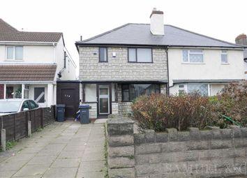 Thumbnail 3 bedroom semi-detached house to rent in Aldridge Road, Perry Barr, Birmingham