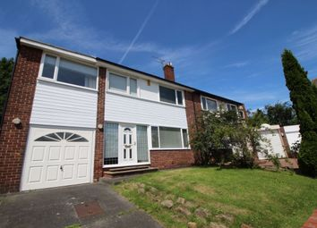 Thumbnail 4 bed semi-detached house to rent in Sheldon Grove, Gosforth, Newcastle Upon Tyne