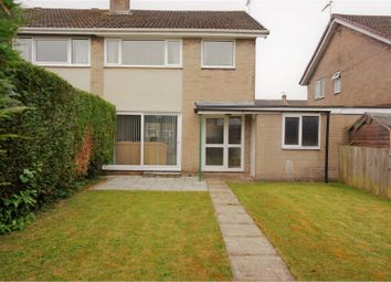 Thumbnail 3 bed semi-detached house for sale in Keats Road, Caldicot