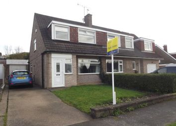 Thumbnail 3 bed semi-detached house for sale in Portreath Drive, Allestree, Derby, Derbyshire