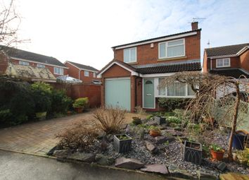 Thumbnail 3 bed detached house for sale in Smithy Farm Drive, Stoney Stanton, Leicester