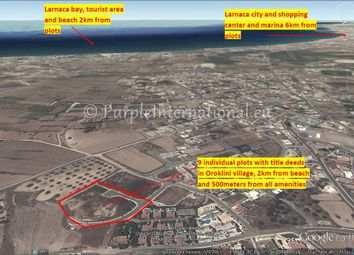 Thumbnail Land for sale in Oroklini Promenade, Oroklini, Cyprus