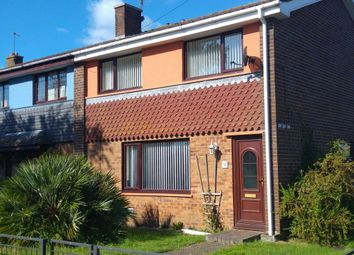 Thumbnail 3 bed end terrace house for sale in Seaway Crescent, Southsea