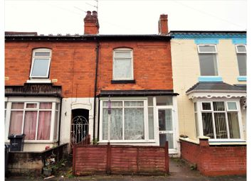 Thumbnail 3 bed terraced house for sale in Grange Road, Birmingham
