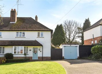 Thumbnail 3 bed semi-detached house for sale in Church Lane, Finchampstead, Wokingham