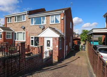 Thumbnail 3 bed semi-detached house for sale in Nethermoor Close, Killamarsh, Sheffield