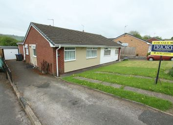 Thumbnail 3 bed semi-detached bungalow for sale in Long Valley Road, Gillow Heath, Biddulph