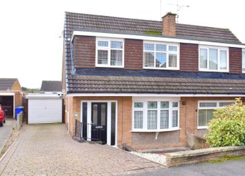 Thumbnail 3 bed semi-detached house to rent in Milford Drive, Ilkeston, Derbyshire