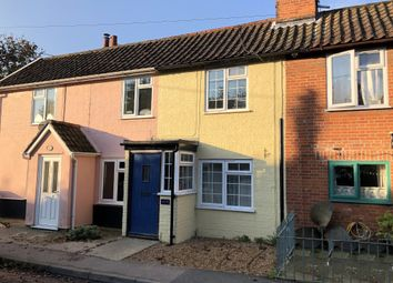 Thumbnail 2 bed terraced house for sale in East Row, The Street, Holbrook, Ipswich