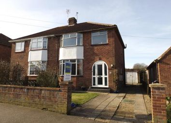 Thumbnail 3 bed semi-detached house for sale in Thorpe St. Andrew, Norwich, Norfolk