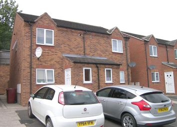 Thumbnail 2 bed semi-detached house to rent in Haworth Close, Stretton, Alfreton