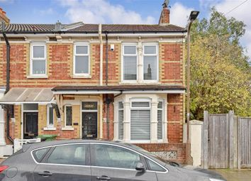 Thumbnail 3 bed end terrace house for sale in Hollam Road, Southsea, Portsmouth, Hampshire