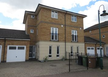 Thumbnail 4 bed town house for sale in Stanton Square, Hampton Hargate, Peterborough