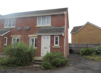 Thumbnail 2 bed semi-detached house for sale in Cyfarthfa Rise, Heolgerrig, Merthyr Tydfil
