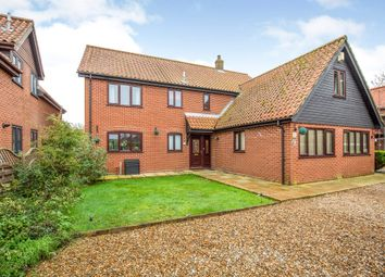 Thumbnail 5 bed detached house for sale in Norwich Road, Attleborough