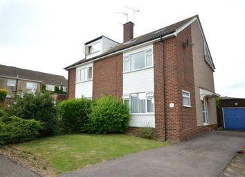 Thumbnail 4 bed semi-detached house for sale in Dawson Close, Saffron Walden, Essex