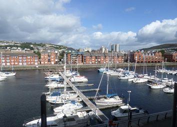 Thumbnail 1 bed flat to rent in Meridian Wharf, Trawler Road, Marina, Swansea